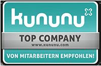 kununu –top company –von Mitarbeitern empfohlen!